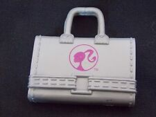 Barbie Doll Size - Silver Briefcase - Great For Diorama