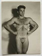 Vintage Male Nude Photo Ron Selvaggio: Attrib to Spectrum: Physique Gay Interest