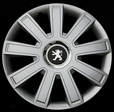 "Set of  4x14"" wheel trims to fit Peugeot 106,107,206,306,Partner"
