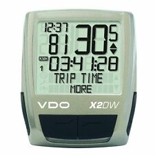 VDO X2 DW Bicycle Computer, 16 Functions, Digital Wireless