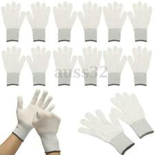 6 Pair  White Cotton Wrapping Glove Application Tools For Car Wrap Vinyl Sticker