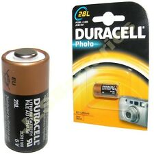 DURACELL 28L 6v Photo BATTERY PX28L L544 2CR1/3N