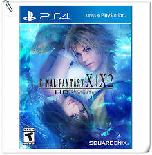 2 IN 1 PS4 FINAL FANTASY X / X-2 HD REMASTER ENG 最终幻想 中文 RPG Games Square Enix