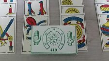 Moroccan playing cards/ fortune telling cards / original camoin ronda 70 years+