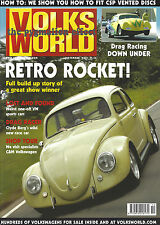 VolksWorld Magazine Type 2 VW Split Screen Bus German Folks Resto Ragtop Beetle