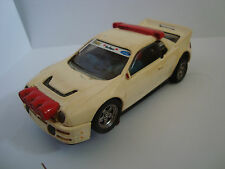 coche slot scalextric ford rs 200 exin maade in spain traccion con gomas