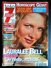 Télé 7 Jours 13/06/1998 ILauralee Bell/ Diana/ Thierry Rolland/ Francis Huster