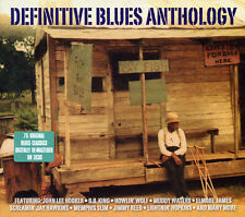 Definitive Blues Anthology VARIOUS ARTISTS 75 Songs BEST Music NEW SEALED 3 CD