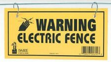 Dare Products Electric Fence 3 Pack, Warning Sign, 1614-03