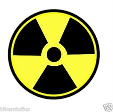 RADIOACTIVE SIGN STICKER
