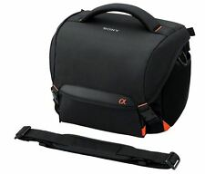 "Official ""SONY"" Soft Carrying Case (Black) LCS-SC8 BC / for Digital SLR camera α"