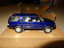 1995 95 Chevy S10 Blazer promo model. Radar Blue Metallic. New in box. AMT/ERTL