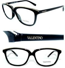 VALENTINO BRILLE 2628 SCHWARZ GOLD Cat EyE  SONNENBRILLE DAMEN LUXUS BRILLE ETUI