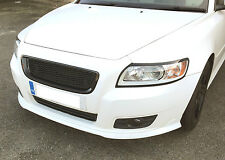 VOLVO S40 V50 2008 - 2012 FACELIFT - MESH Sport Grill Grille GLOSSY BLACK ABS