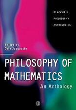 Blackwell Philosophy Anthologies: Philosophy of Mathematics : An Anthology...