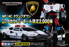Takara Transformers Masterpiece MP-14C Diaclone Clamp Down Lamborghini Clampdown