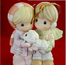 Precious Moments Christmas Our First Christmas Together 2000 ORNAMENT MIB 730084