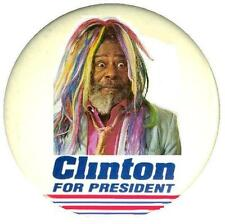 (George) Clinton for President # 10 - 8 x 10 T-shirt iron-on transfer