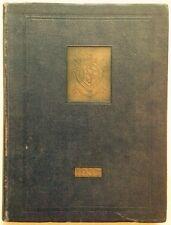 1937 THE BARNARD SCHOOL FOR BOYS HIGH SCHOOL YEARBOOK, BARNARD BRIC, BRONX, NY