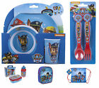 PAW PATROL - School Backpack GYM Bag Cutlery Melamine Lunch Box - SELECT YOURS