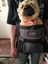 Doggie Backpack Small Carrier Travel Front or Back Tote Pet carryer