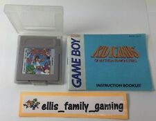 Kid Icarus Of Myths and Monsters GameBoy GB W/ Case Manual Cleaned Works Great