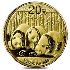 2013 1/20 oz Gold Chinese Panda Coin