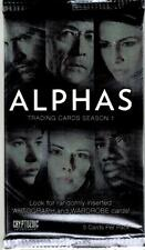 2013 Cryptozoic Alphas (TV) Trading Card Pack