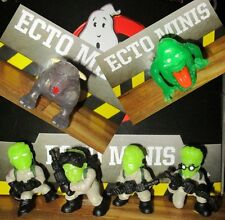 GHOSTBUSTERS ECTO MINIS CLASSIC PETER RAY EGON WINSTON ZUUL GLOW VARIANT SET 6