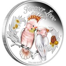 2014 50c Forever Love Cockatoo 1/2oz Silver Proof Coin PERTH MINT