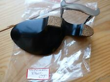 EBONY VIOLIN CHIN REST, OT MODEL, WITH CORKED CLAMP, 4/4, FROM UK!