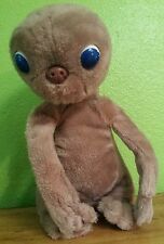 "1982 SHOWTIME ET E.T. Extra Terrestrial ALIEN PLUSH STUFFED TOY APPROX. 13"" TALL"