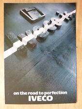FIAT IVECO MAGIRUS TRUCKS orig 1980 UK Mkt Sales Brochure