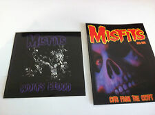 THE MISFITS 2-Pack of Stickers Wolfs Blood & Cuts Crypt NEW OFFICIAL Danzig