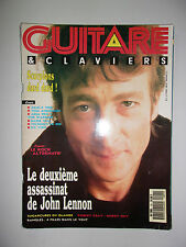 GUITARE & CLAVIERS N°91 1988 LENNON REMEMBER
