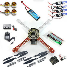 RC Quadcopter Drone Kit KK Flight Control Motor Lipo F450 Flamewheel F02192-B