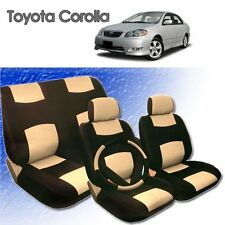 2005 2006 2007 2008 For Toyota Corolla P Leather Seat Cover