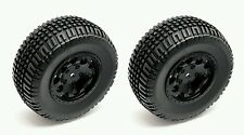 Team Associated SC10, SC10B, SC10.2 12mm Hex Premounted Wheels & Tires (91104)