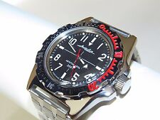 Mens Watch Russian VOSTOK AMPHIBIAN Military Diver Automatic 110647