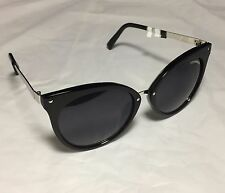 Steve Madden Mod Cat Eye Black Sunglasses - MSRP $38