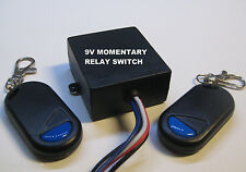 MSD INC 9V DC MOMENTARY ON relay switch with 2 remote control RS90M