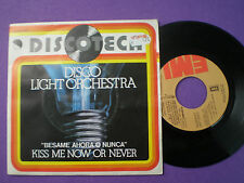 DISCO LIGHT ORCHESTRA Kiss Me Now SPAIN 45 1976 MINT