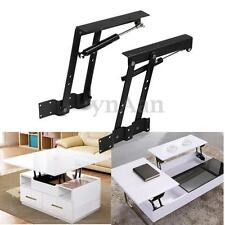 2PCS Lift Up Top Coffee Table Mechanism Hardware Furniture Gas Strut Hinge
