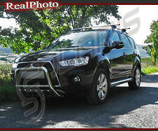 MITSUBISHI OUTLANDER 09-12 BULL BAR,NUDGE BAR,A BAR + GRATIS!!! STAINLESS STEEL
