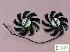 85mm 12V 0.35A Dual-X Fan For Sapphire AMD Radeon HD 7970 7950 7870 Repaced 40mm