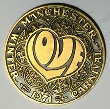 C1315   MANCHESTER, N.H. BRONZE  TOWN  MEDAL,  WINTER CARNIVAL  1971