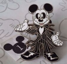 Mickey Mouse as Jack Skellington Costume Nightmare Before Christmas Disney Pin