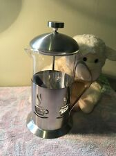 BergHOFF Cook & Co. French Press 2.50 Cups Silver 2211100 Coffee Maker NEW