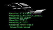 Hasselblad 203FE 205FCC 205TCC Camera Service Repair Manual
