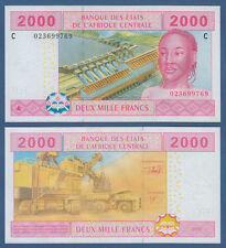 Central African States/chad 2000 francos 2002 UNC p.608c